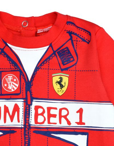 Scuderia Ferrari Online Store - Baby boy Number 1 play suit - Baby & Kids Sets