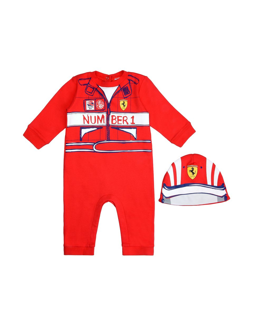 Scuderia Ferrari Online Store - Baby boys Number 1 romper - Baby & Kids Sets