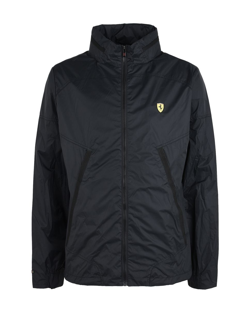Scuderia Ferrari Online Store - Men's water-repellent jacket with concealed hood -