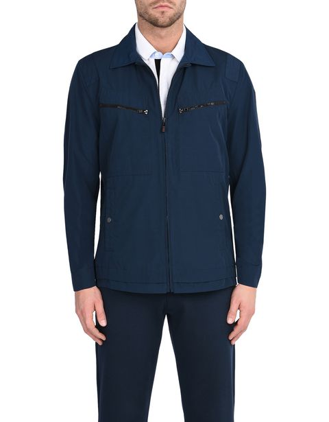 Men's field jacket in cotton nylon