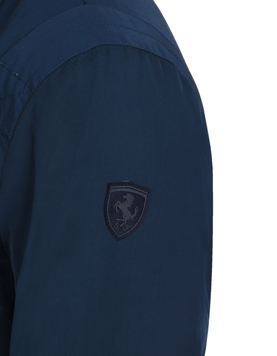 Scuderia Ferrari Online Store - Men's field jacket in cotton nylon - Field Jackets