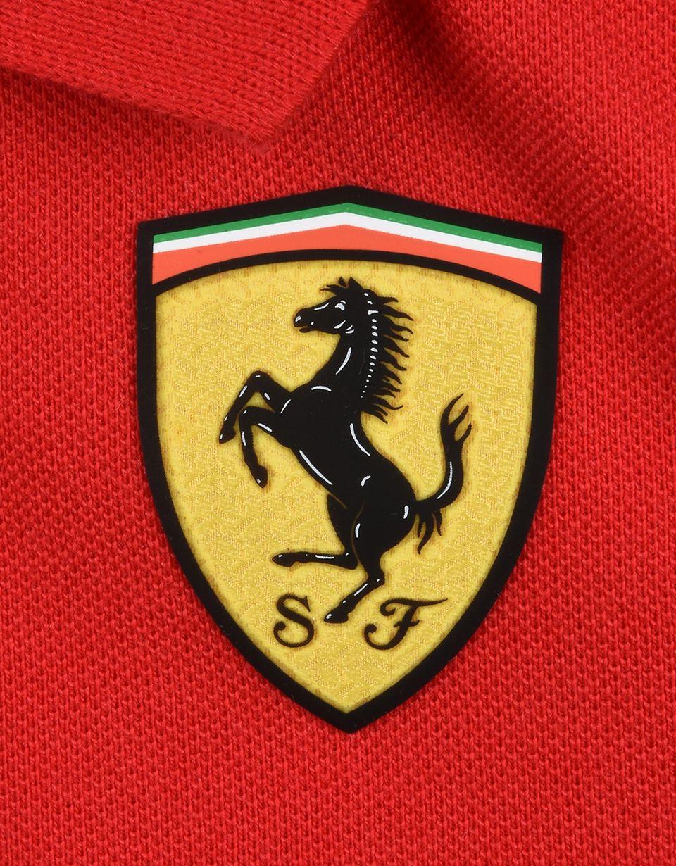 Scuderia Ferrari Online Store - Polo neonato manica corta Scuderia Ferrari - Polo a maniche corte