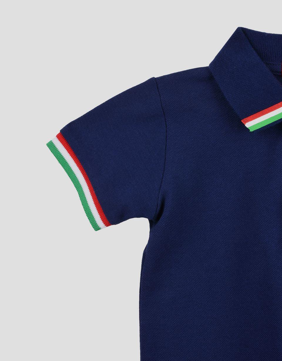 Scuderia Ferrari Online Store - Baby T-Shirt with exclusive Scuderia Ferrari print - Short Sleeve Polos