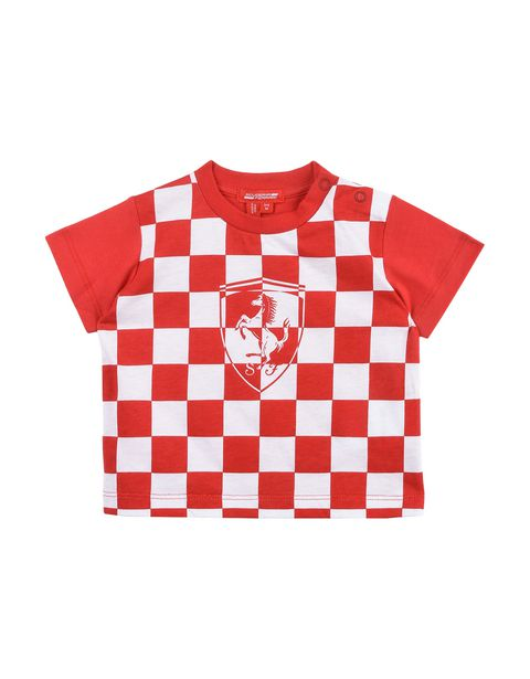 Baby chequered T-shirt