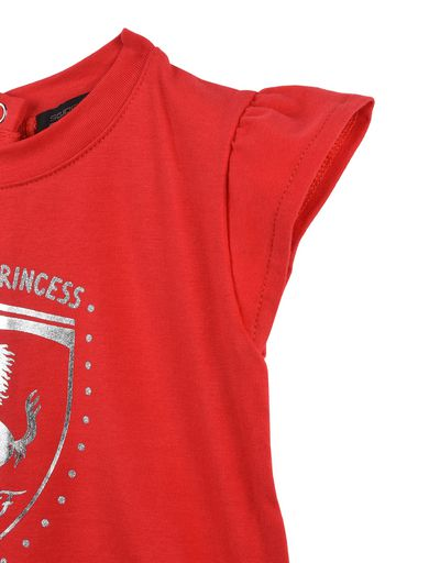 Scuderia Ferrari Online Store - Baby dress with ruffles -