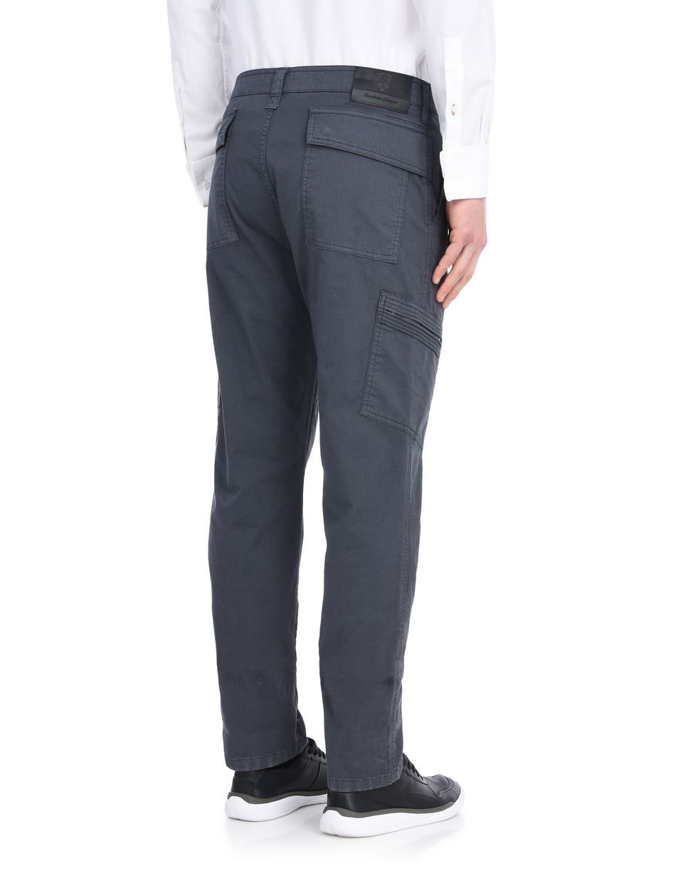 Scuderia Ferrari Online Store - Men's trousers with pockets - Chinos