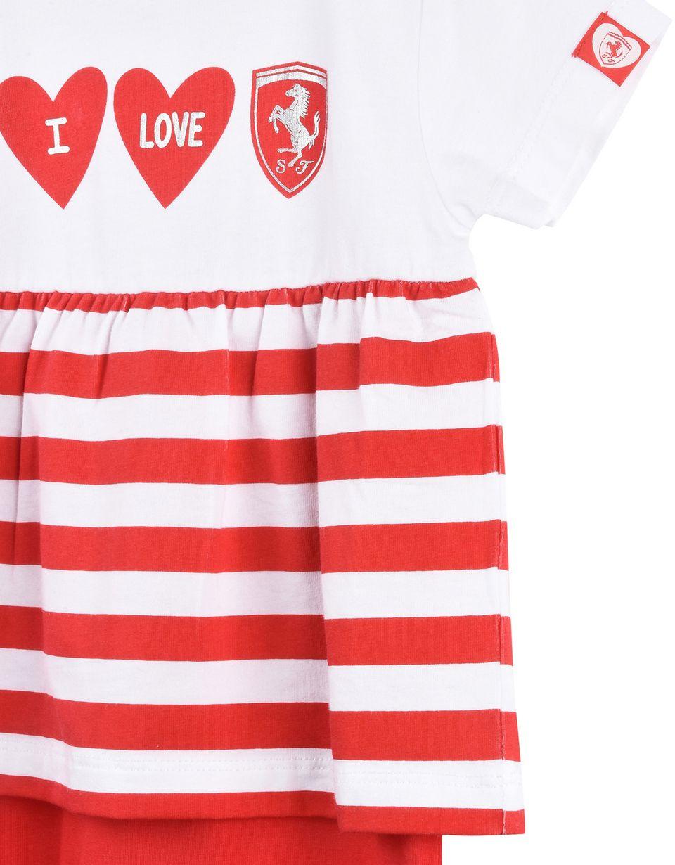 """Scuderia Ferrari Online Store - Baby boy """"I love Ferrari"""" romper - Jumpsuits"""
