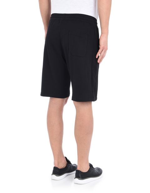 Men's cotton fleece gym shorts
