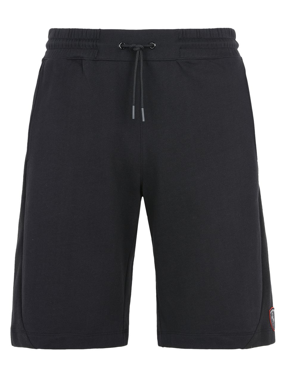 Scuderia Ferrari Online Store - Men's cotton fleece gym shorts - Shorts