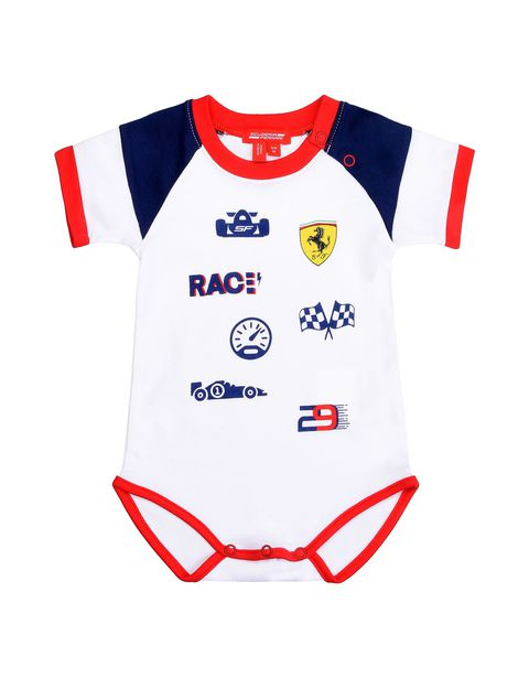 Scuderia Ferrari Online Store - Gift idea: baby boy bodysuit, cap and bib - Baby & Kids Sets