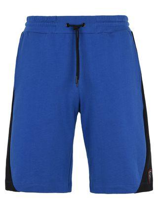Scuderia Ferrari Online Store - Men's cotton fleece gym shorts -