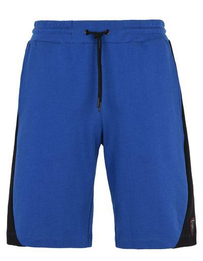 Scuderia Ferrari Online Store - Pantaloni corti uomo sportivi in felpa di cotone - Shorts