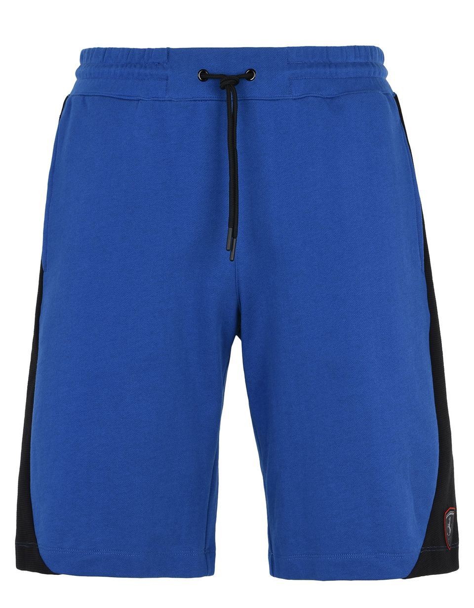 Scuderia Ferrari Online Store - Men's cotton fleece gym shorts -
