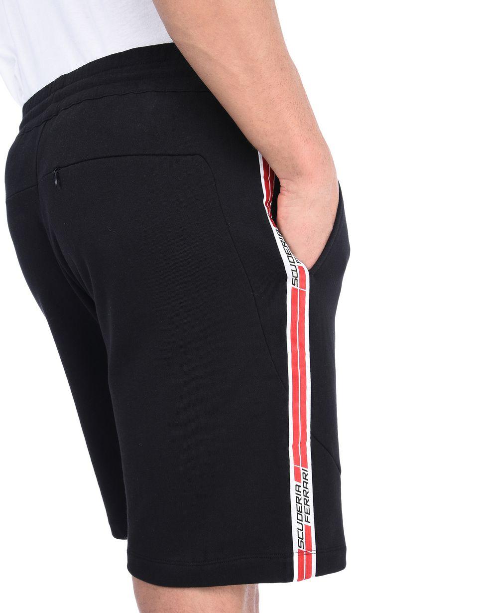 Scuderia Ferrari Online Store - Bermudas de la Scuderia Ferrari con Icon Tape - Pantalones cortos