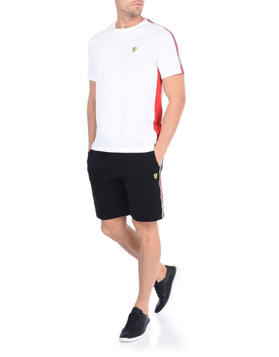 Scuderia Ferrari Online Store - Bermuda Scuderia Ferrari avec Icon Tape - Shorts