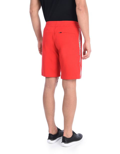 Scuderia Ferrari Bermuda shorts with Icon Tape