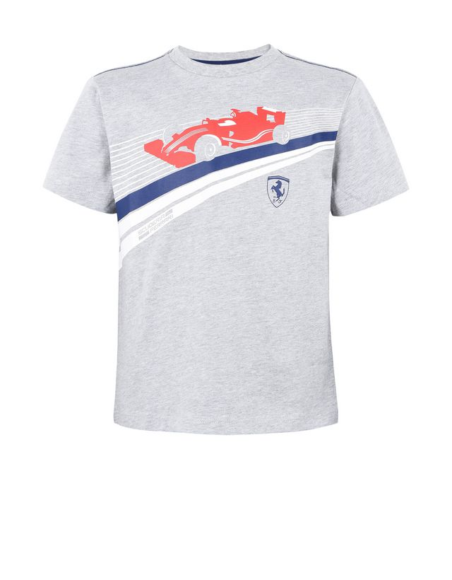 Scuderia Ferrari Online Store - Children's T-shirt in cotton jersey -