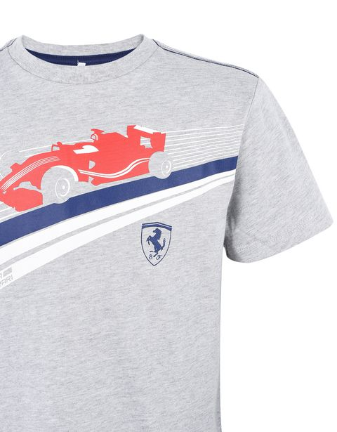Scuderia Ferrari Online Store - Children's T-shirt in cotton jersey - Short Sleeve T-Shirts