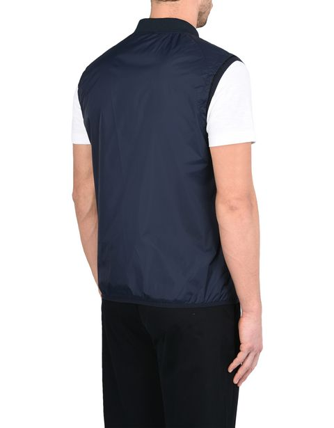 Men's sports vest in padded nylon