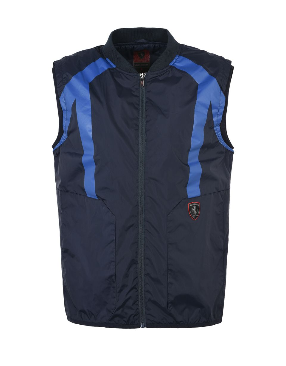 Scuderia Ferrari Online Store - Men's sports vest in padded nylon - Vests