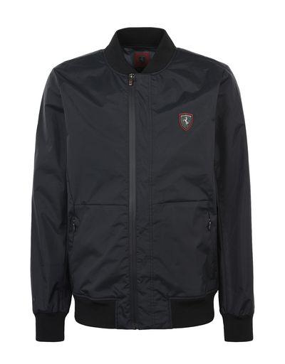 Scuderia Ferrari Online Store - Men's rain jacket with 3000 mm waterproof finish - Bombers & Track Jackets