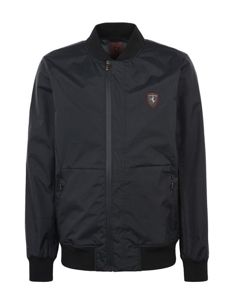 Scuderia Ferrari Online Store - Men's rain jacket with 3000 mm waterproof finish - Bombers & Track Jackets