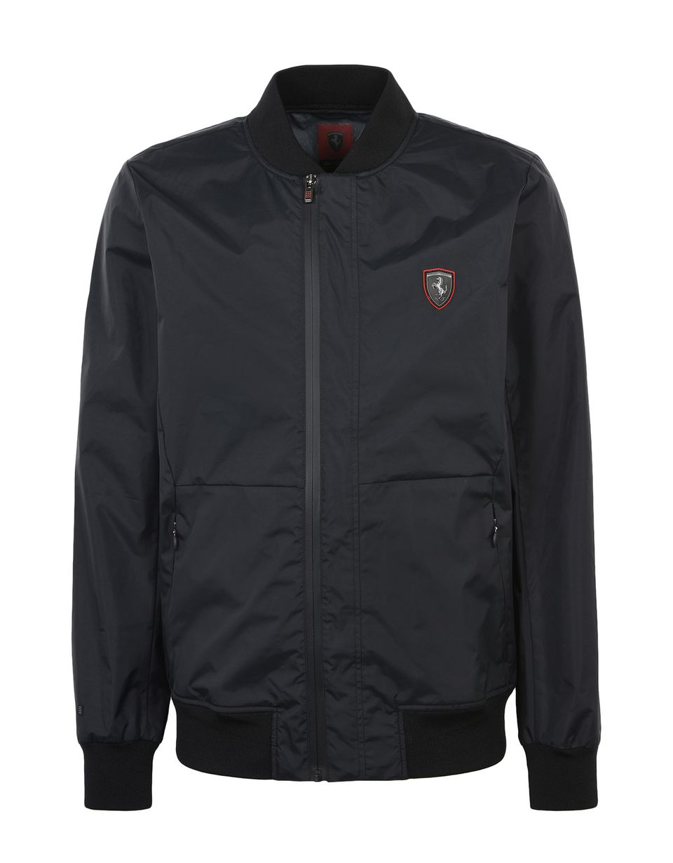 Scuderia Ferrari Online Store - Men's rain jacket with 3000 mm waterproof finish -