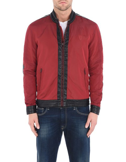 Men's slim fit biker jacket