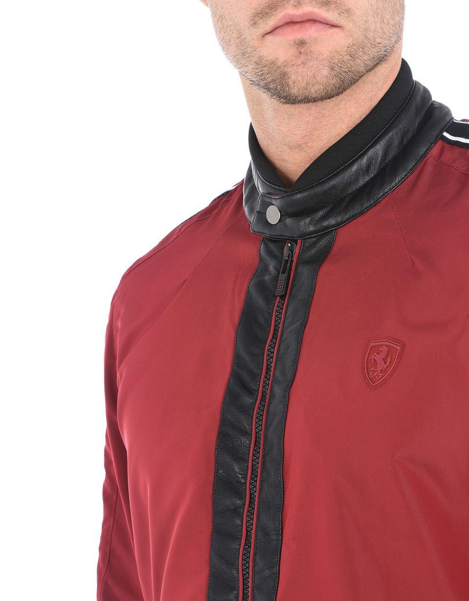 Scuderia Ferrari Online Store - Bikerjacke für Herren mit schmaler Passform - Bomber-& Sportjacken