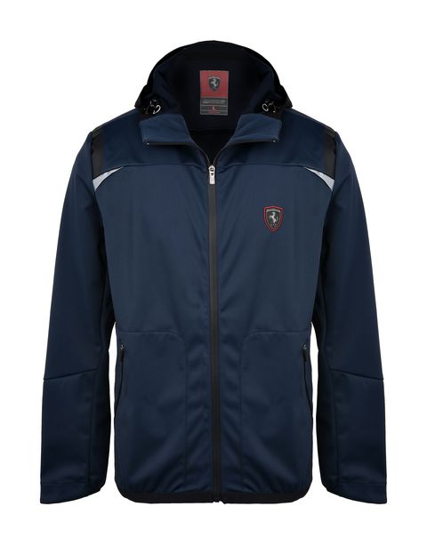 Scuderia Ferrari Online Store - Waterproof Softshell hooded jacket -