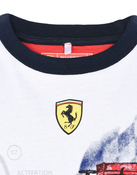 Scuderia Ferrari Online Store - Printed T-shirt for teens - Short Sleeve T-Shirts
