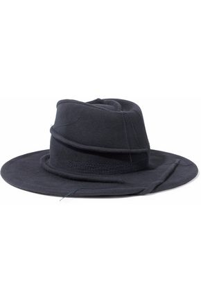 MAISON MICHEL Distressed felt fedora