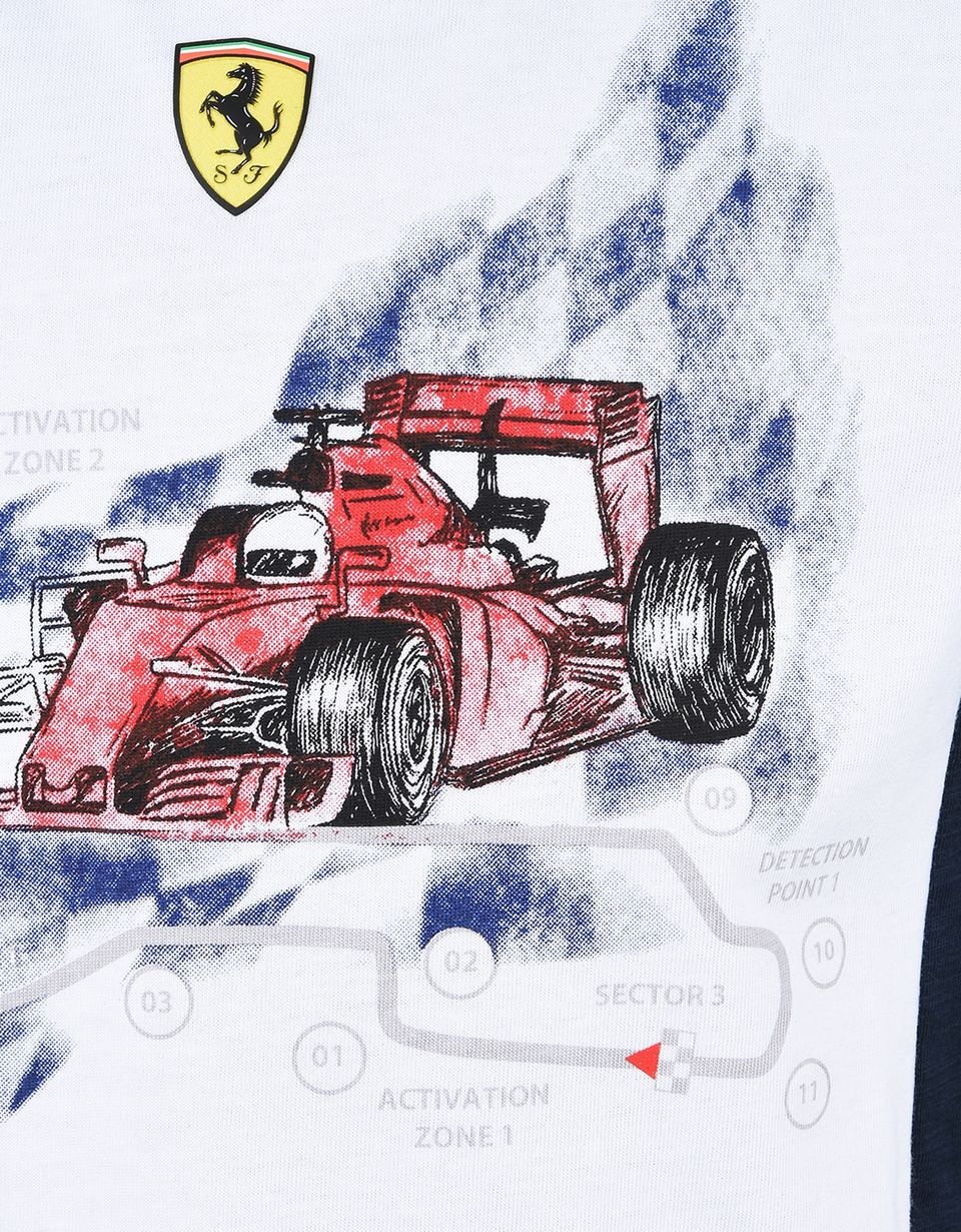 Scuderia Ferrari Online Store - Printed T-shirt for teens -