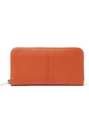 TOD'S Textured-leather wallet