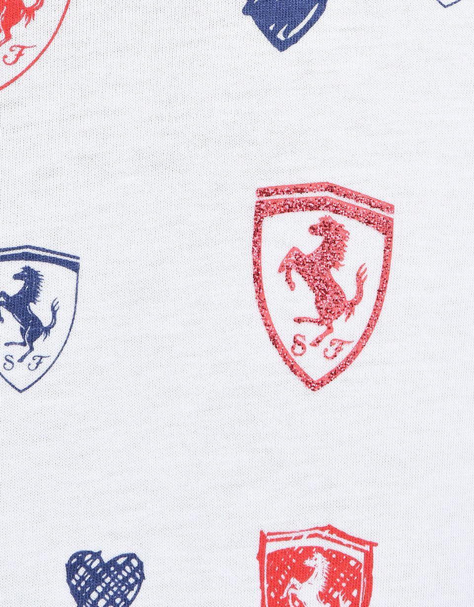 Scuderia Ferrari Online Store - Платье с короткими рукавами для девочек - Короткие платья
