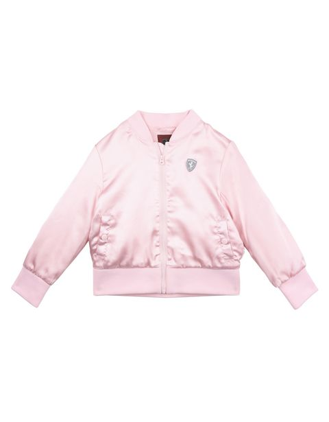 Bomber jacket for girls with Shield at the left chest