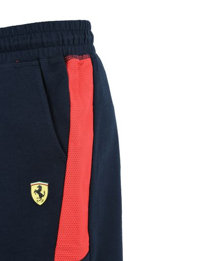 Scuderia Ferrari Online Store - Shorts for teens with Scuderia Ferrari print - Shorts