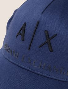 ARMANI EXCHANGE CLASSIC LOGO EMBROIDERY HAT Hat Man d