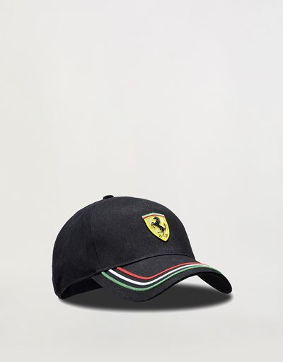 Adjustable three-colour cap