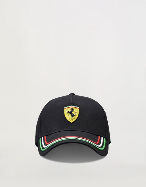 Men's adjustable tricolour cap