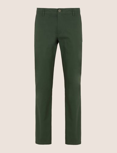 CLASSIC SLIM-FIT CHINO PANTS