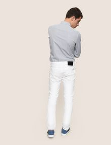 ARMANI EXCHANGE CLASSIC SLIM-FIT TWILL PANTS Pant Man e