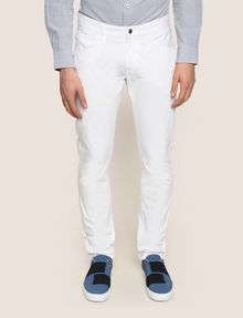 ARMANI EXCHANGE CLASSIC SLIM-FIT TWILL PANTS Pant Man f