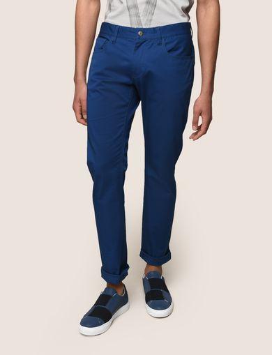 CLASSIC SLIM-FIT TWILL PANTS