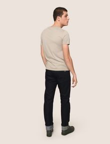 ARMANI EXCHANGE STRAIGHT-LEG DARK INDIGO JEANS STRAIGHT FIT JEANS Man e