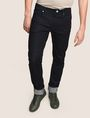 ARMANI EXCHANGE STRAIGHT-LEG DARK INDIGO JEANS STRAIGHT FIT JEANS Man f