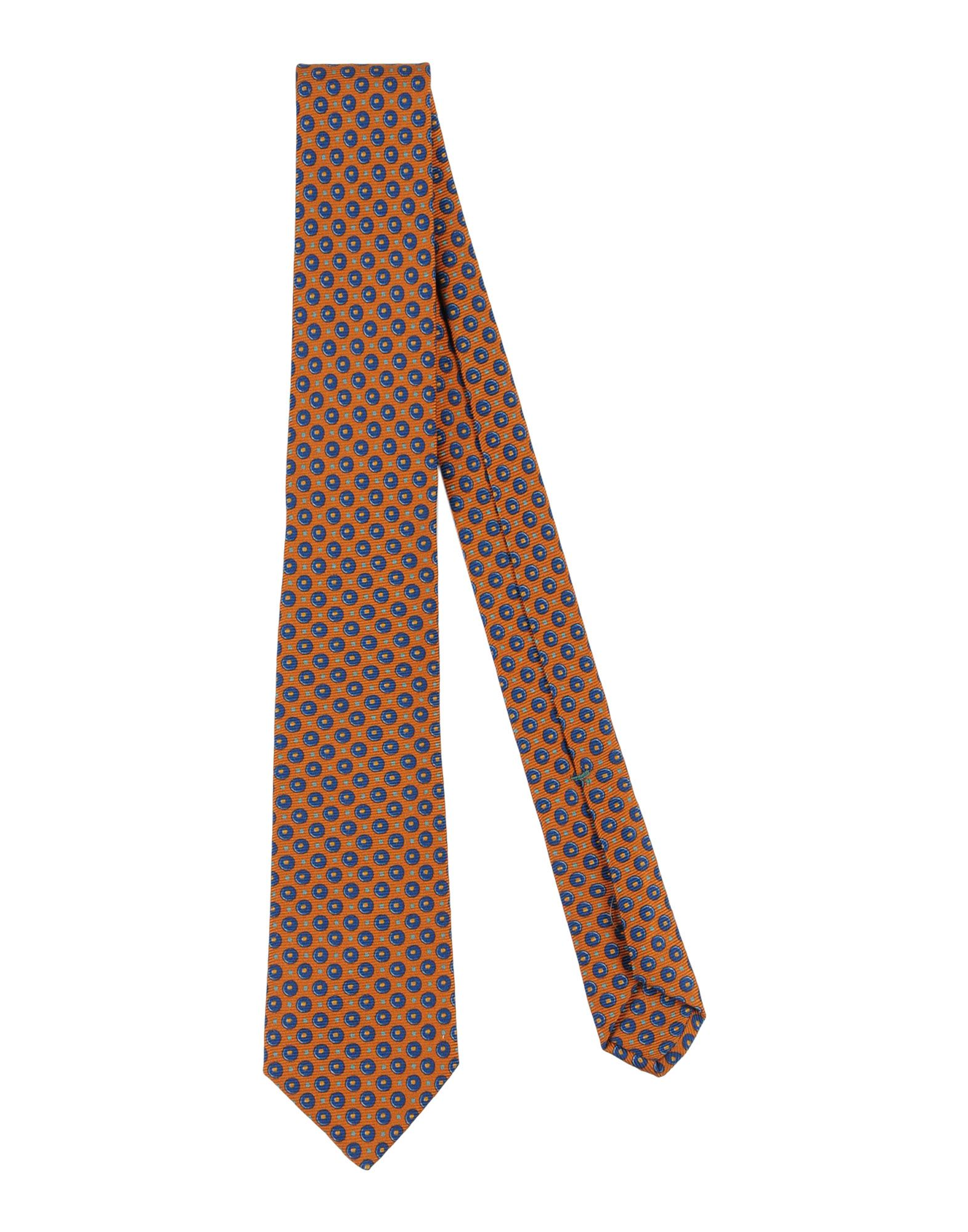 LUIGI BORRELLI NAPOLI Herren Krawatte Farbe Braun Größe 1