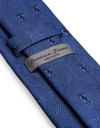 Scuderia Ferrari Online Store - Pure silk Scuderia Ferrari tie - Printed Ties