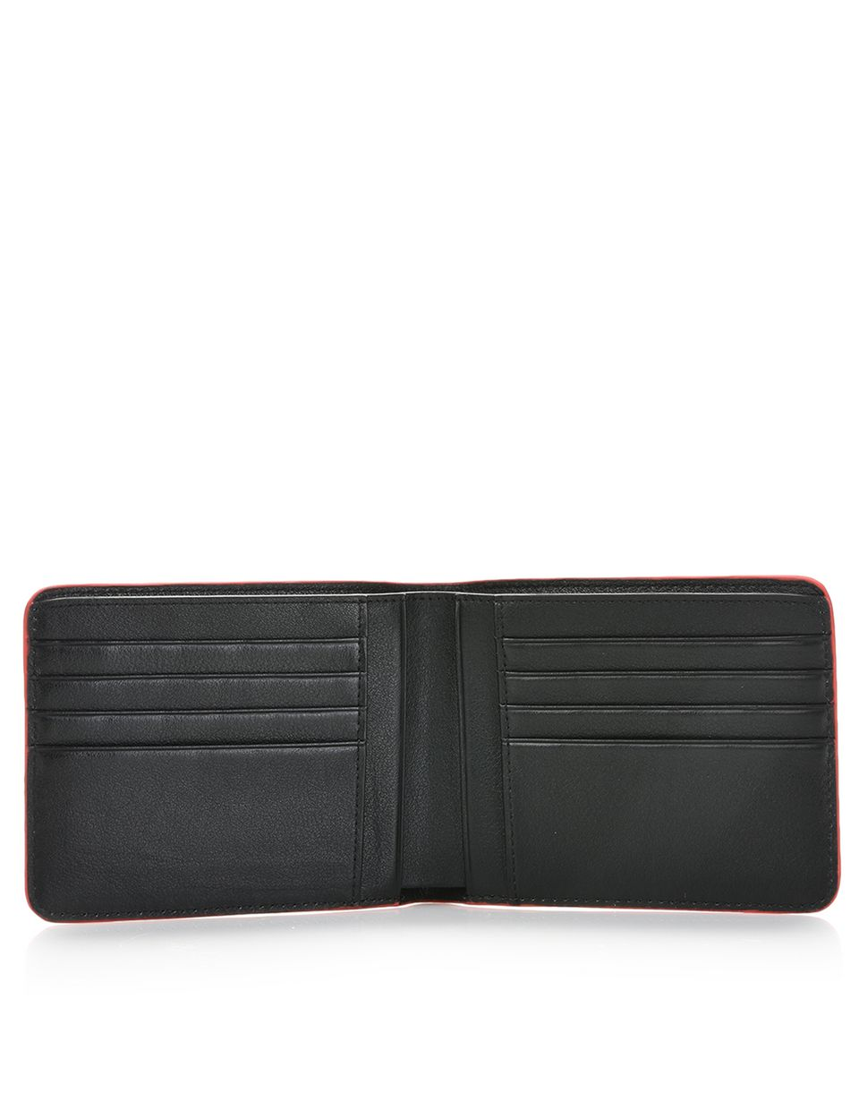 Scuderia Ferrari Online Store - Men's leather wallet -