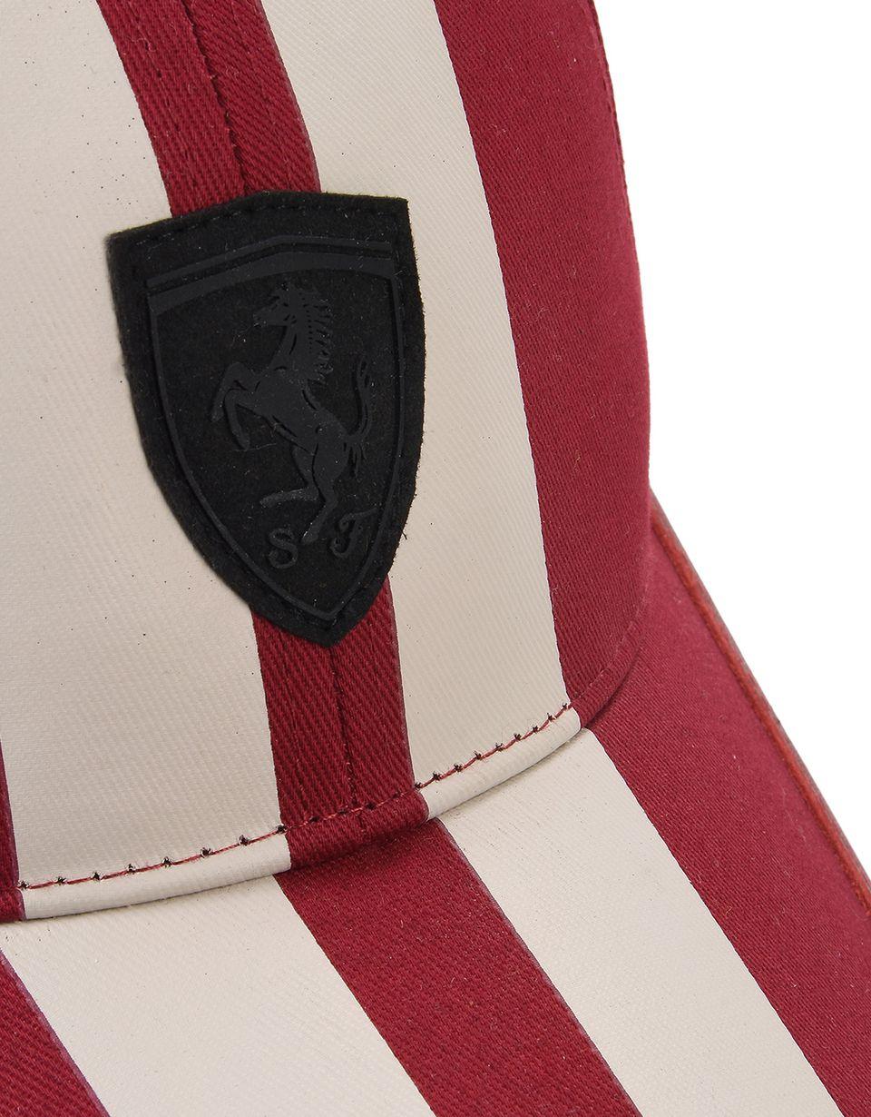 Scuderia Ferrari Online Store - Cappellino con visiera con stampa a serigrafia - Cappellini da Baseball